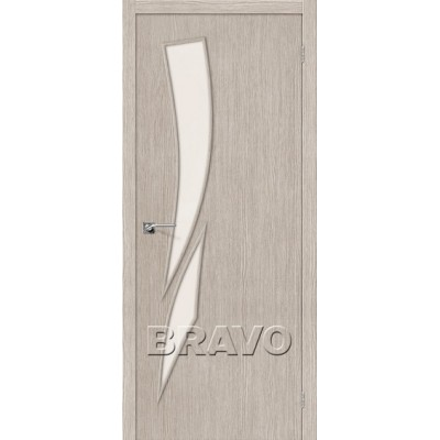 Межкомнатная Дверь Экошпон Мастер-10 3D Cappuccino