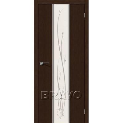 Межкомнатная Дверь Экошпон Глейс-2 Twig 3D Wenge