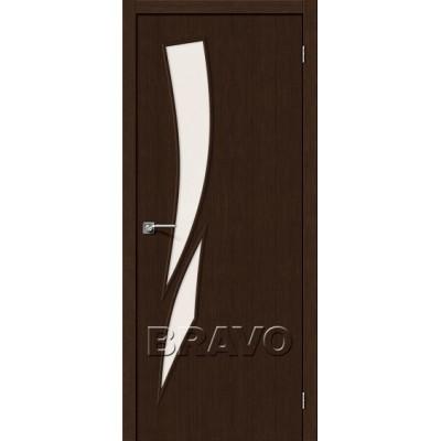 Межкомнатная Дверь Экошпон Мастер-10 3D Wenge