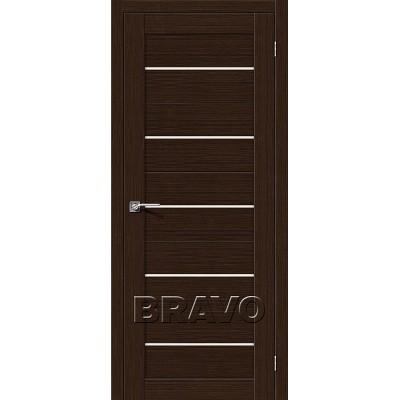 Межкомнатная Дверь Экошпон Свит-22 3D Wenge