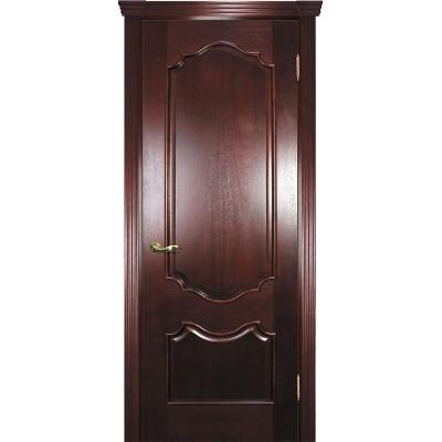 Ульяновская дверь Фрейм 01 красное дерево ДГ