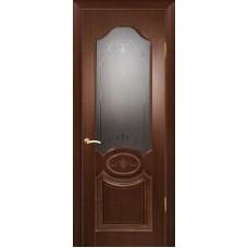 Ульяновская дверь Мулино 04 орех тёмный ДО