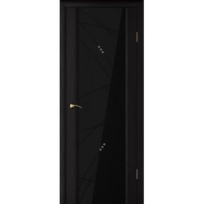 Ульяновская дверь Страто 02 чёрный дуб