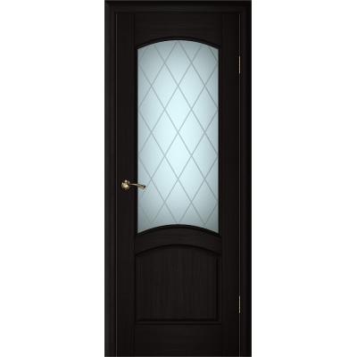 Ульяновская дверь Вайт 01 чёный дуб ДО