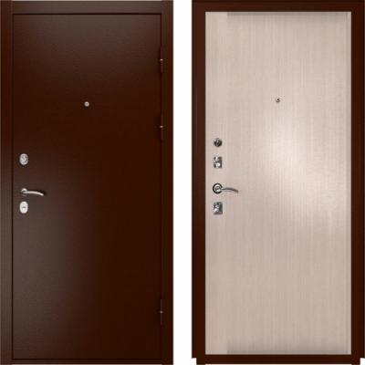 Входная дверь Luxor-3a Синай-3 белёный дуб