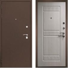 Входная дверь М-1 белёный дуб