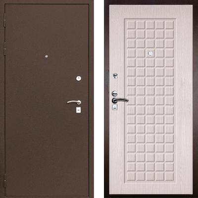 Входная дверь М-1 светлый венге